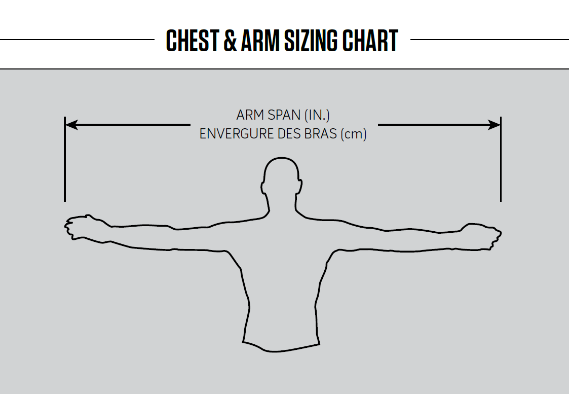 Goalie Chest & Arm Size Chart – Warrior